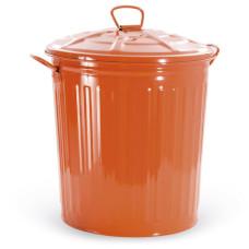 Bidone Colorato, colore Arancione 18 Litri