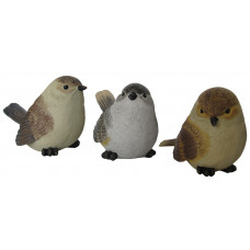 Set 3 uccellini 152x9x105 cm