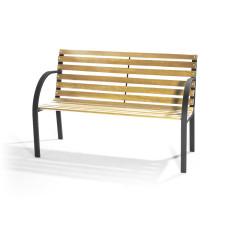 panchina New York legno dimensioni 120x62 – h82