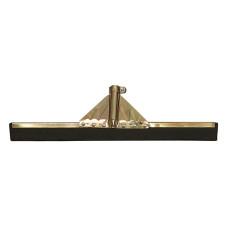 Frattazzo spingiacqua dimensioni 55 cm in acciaio zincato con doppia gomma