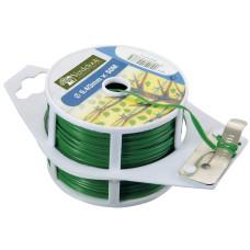 Bobina piattina con taglio Plast dimensioni Ø 0.4x50, colore verde