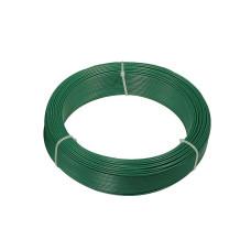 Filo di ferro plastificato Matassa Plast dimensioni Ø 3.3mm x 20m, colore verde