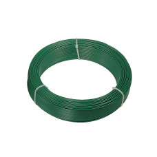 Filo di ferro plastificato Matassa Plast dimensioni Ø 2.4mm x 20m, colore verde