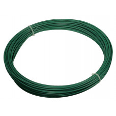 Filo di ferro plastificato Matassa Plast dimensioni Ø 1.8mm x 100m, colore verde