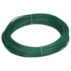 Filo di ferro plastificato Matassa Plast dimensioni Ø 2.7mm x 100m, colore verde