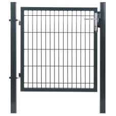 Cancello elettrosaldato 100x100 grigio