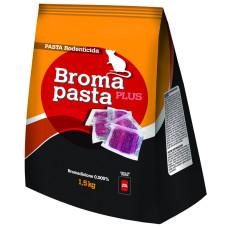 Broma pasta plus esca rodenticida in bocconi busta 1.5kg (sacchettini 20gr)