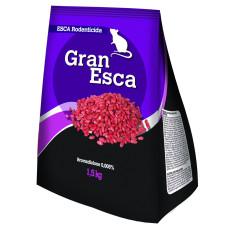 Gran esca rodenticida in grano busta 1.5kg