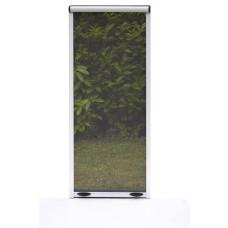 Zanzariera a rullo con frizione Verticale per finestra dimensioni 60x150, colore marrone
