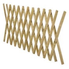 Recinzione estensibile in legno impregnato 250x100cm