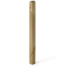 Piantone Maremma in legno quadrato con punta arrotondata