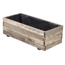 Fioriera legno impregnato 90x40xh30cm