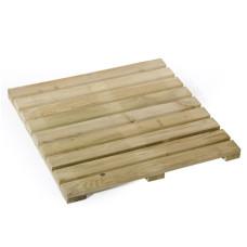Mattonella in legno impregnato