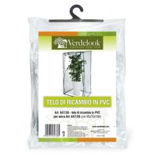 Telo di ricambio in PVC trasparente per serra da terrazzo big 647/26 VerdeLook