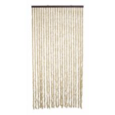 Tenda Ciniglia dimensioni 120x230cm colore beige numero di fili 28