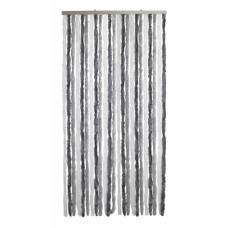 Tenda Ciniglia dimensioni 100x220, colore bianco/grigio. Numero di fili: 24