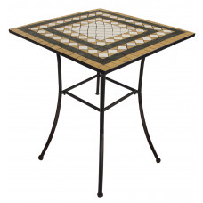 Tavolo Mosaico 80X80Cm