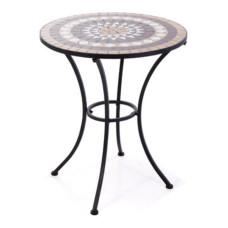 Tavolo Set Mosaico in metallo verniciato