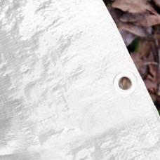 Telo occhiellato 180gr bianco 2x3 m