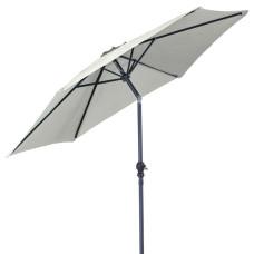 ombrellone con manovella, colore écru