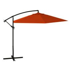 ombrellone a braccio dimensioni 3x3, colore arancione