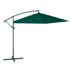 ombrellone a braccio dimensioni 3x3, colore verde scuro