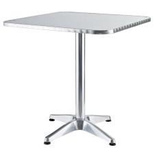 Alumine Tavolo quadrato dimensioni 60x60x70cm