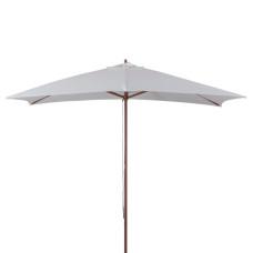 ombrellone in legno dimensioni 3x2, colore écru