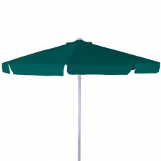 ombrellone in alluminio dimensioni 3x3, colore verde scuro