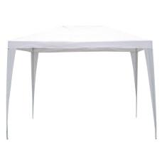 Gazebo PE dimensioni 3x4m colore Bianco