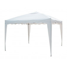 Gazebo 2x2 m pieghevole e richiudibile automatico bianco con struttura in ferro