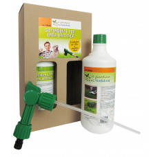 Kit per erba sintetica 2pz detergente concentrato  erogatore mixer