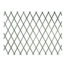 Traliccio estensibile in Legno verde dimensioni 100x200, colore verde