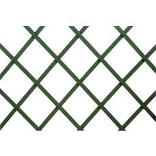 Traliccio estensibile in Plastica verde dimensioni 100x300, colore verde