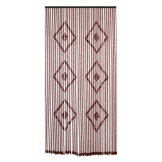 Tenda Legno dimensioni 120x240, colore marrone. Numero di fili: 80