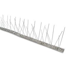 Dissuasore inox per volatili dimensioni 100x2.7