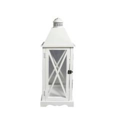 Lanterna Arles M dimensioni 24x24x65 cm colore Bianco
