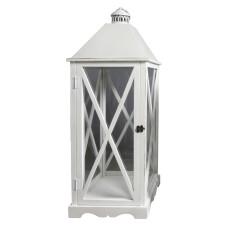 Lanterna Arles L dimensioni 32x32x90 cm colore Bianco